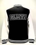SLMT! College Jacket Black/White - achterzijde