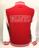 SLMT! College Jacket Red/White - achterzijde